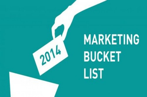 2014 Marketing Bucket List