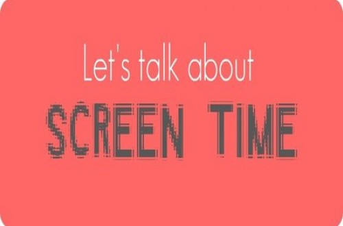 How much screen time a day for a child is OK?